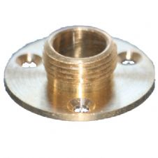 Wellco Lampholder Mounting Plate Brass